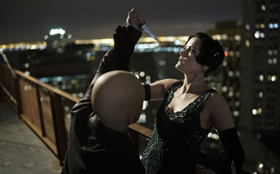 "BLINDSPOT -- ""One Begets Technique"" Episode 118 -- Pictured: Jaimie Alexander as Jane Doe -- (Photo by: Peter Kramer/NBC)"