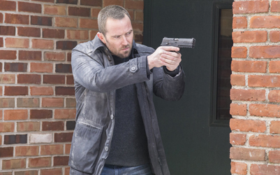 "BLINDSPOT -- ""In The Comet Of Us"" Episode 119 -- Pictured: Sullivan Stapleton as Kurt Weller -- (Photo by: Paul Sarkis/NBC)"