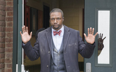 """BLINDSPOT -- """"In The Comet Of Us"""" Episode 119 -- Pictured: Rob Brown as Edgar Reade -- (Photo by: Paul Sarkis/NBC)"""