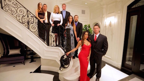 The cast of E's Total Bellas