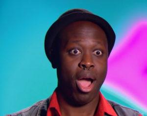 Bob's reaction RuPaul's Drag Race season 8 episode 8