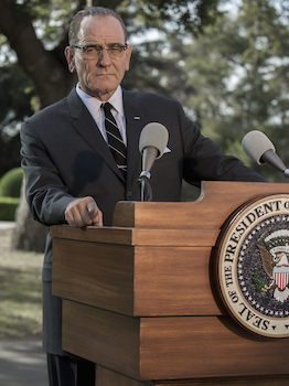 Bryan Cranston as Lyndon Baines Johnson in HBO's All The Way