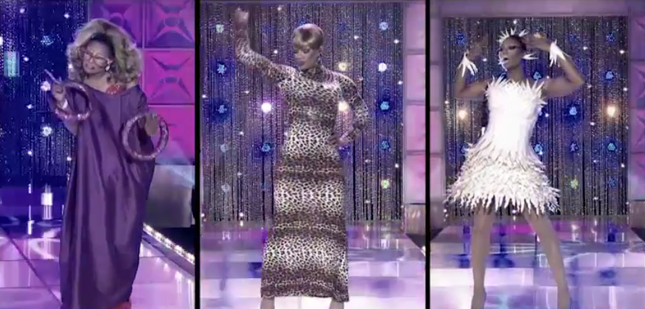 Chi Chi's mainstage RuPaul's Drag Race season 8 episode 8