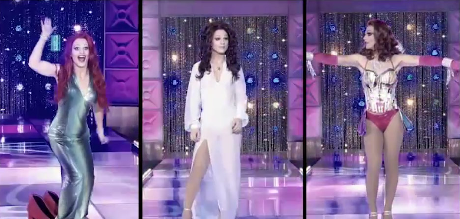 Derrick's mainstage RuPaul's Drag Race season 8 episode 8