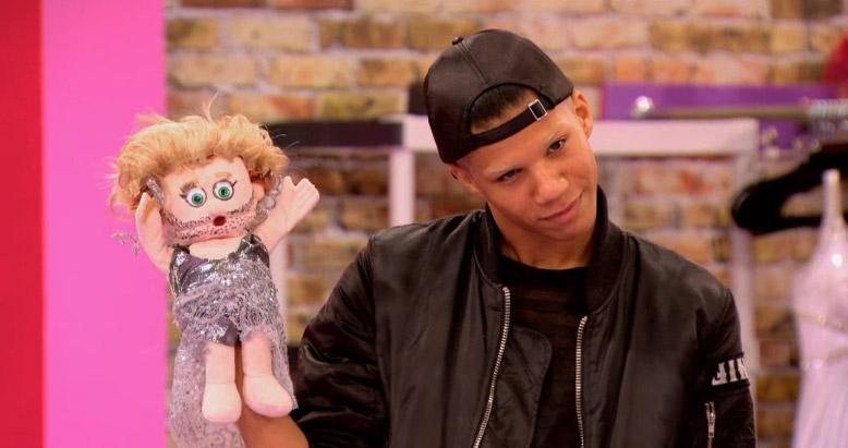 Naomi's puppet reaction RuPaul's Drag Race season 8 episode 8