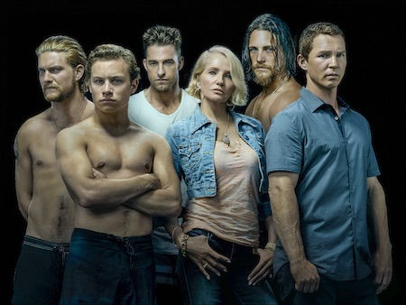 The cast of Animal Kingdom on TNT