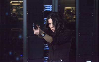 "BLINDSPOT -- ""Of Whose Uneasy Route"" Episode 121 -- Pictured: Audrey Esparza as Tasha Zapata -- (Photo by: Paul Sarkis/NBC)"
