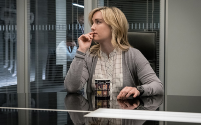 "BLINDSPOT -- ""Why Await Life's End"" Episode 123 -- Pictured: Ashley Johnson as Patterson -- (Photo by: Jeff Neumann/NBC)"