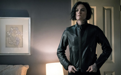 "BLINDSPOT -- ""Why Await Life's End"" Episode 123 -- Pictured: Jaimie Alexander as Jane Doe -- (Photo by: Jeff Neumann/NBC)"