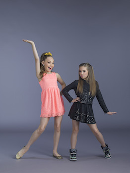 Dance Moms Maddie and Mackenzie
