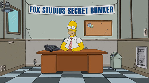Homer Simpson is waiting in the FOX Studios bunker to answer your questions, live!