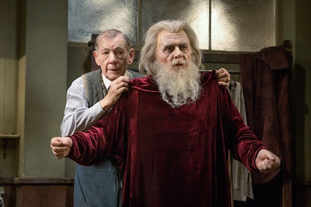 The Dresser Starz Ian McKellan and Anthony Hopkins