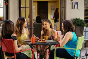 (L to R) Roselyn Sanchez, Ana Ortiz, Dania Ramirez and Judy Reyes star in season 4 of Devious Maids
