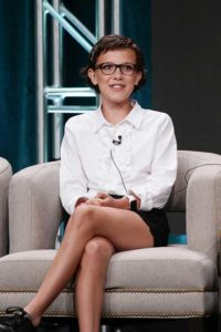 Millie Brown at the TCA press tour