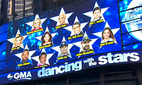 Season 23 Cast For Dancing With the Stars