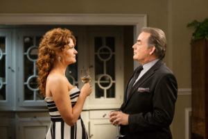 Rebecca Wisockly and Tom Irwin star in Season 4 of Devious Maids