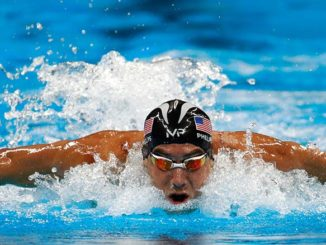Michael Phelps Final Olympic Race