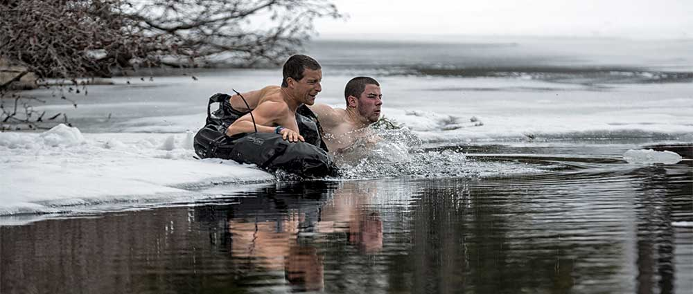 Bear Grylls and Nick Jonas featured in the Season 3 premiere of Running Wild With Bear Grylls on Monday, Aug. 1 on NBC
