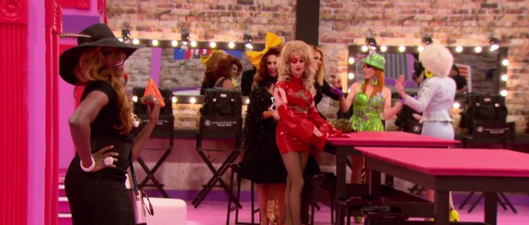 RuPaul's Drag Race All Stars season 2 ep 1 Coco dorito entrance