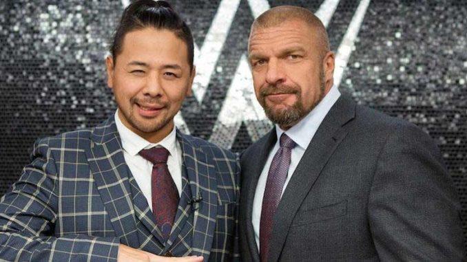 Nakamura and Triple H