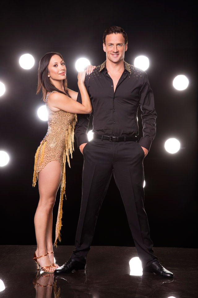 Ryan Lochte & Cheryl Burke
