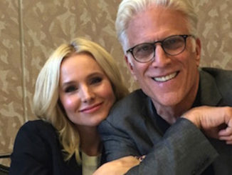 Ted Danson Kristen Bell The Good Place Comic Con