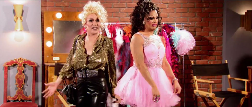 RuPaul's Drag Race All Stars season 2 Drag Movie Shequels episode 4 Phi Phi & Roxxxy