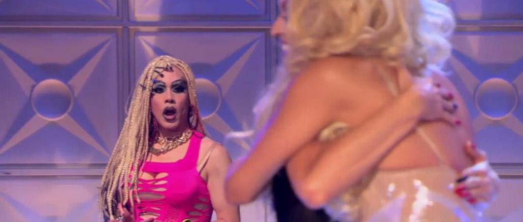 RuPaul's Drag Race All Stars season 2 revenge of the queens win reaction