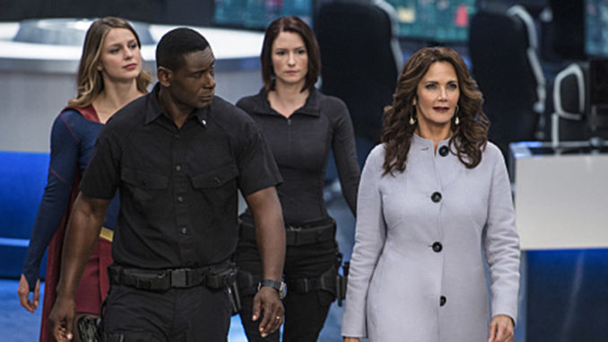 """Lynda Carter on The CW's """"Supergirl"""""""