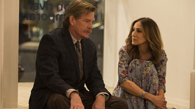 Thomas Haden Church, Sarah Jessica Parker in Divorce