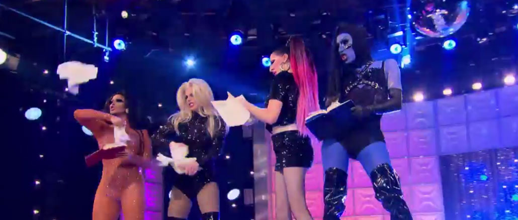 RuPaul's Drag Race All Stars season 2 finale final four performance