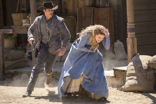 Westworld- James Marsden Evan Rachel Wood