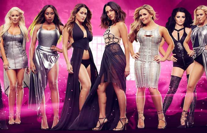 The cast of E!'s Total Divas