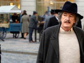 Geoffrey Rush as Albert Einstein in Nat Geo's Genius