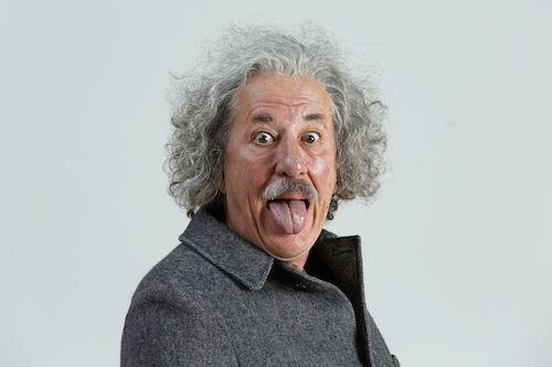 Geoffrey Rush stars as Albert Einstein