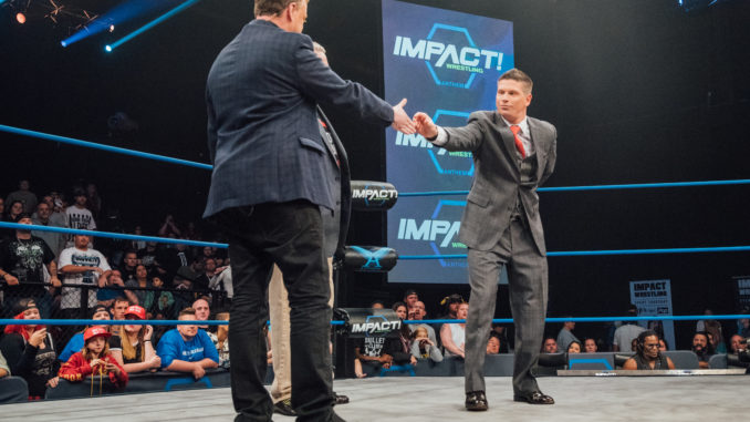 Josh Matthews TNA Impact