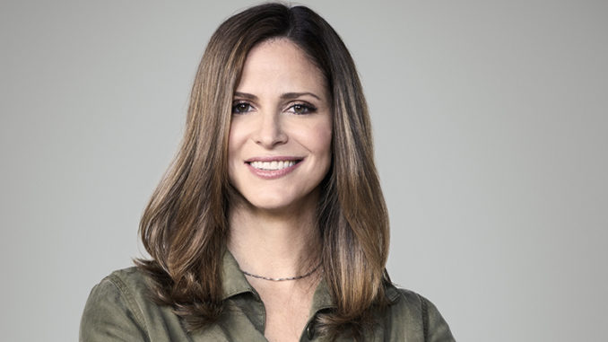 "Andrea Savage in the new truTV comedy series ""I'm Sorry"""