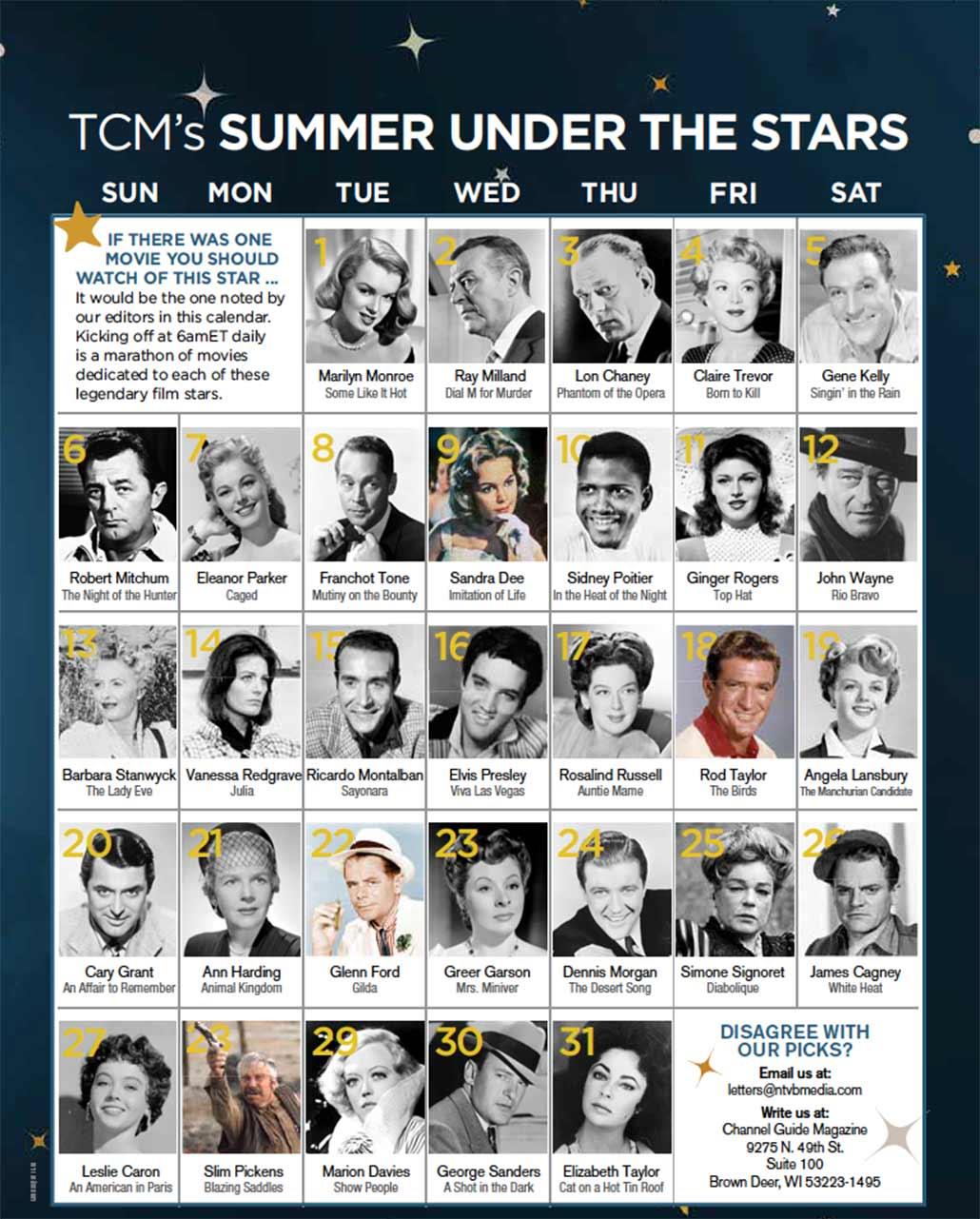 TCM Summer Under the Stars