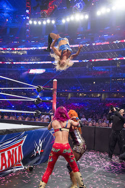 Charlotte Sasha WrestleMania 34