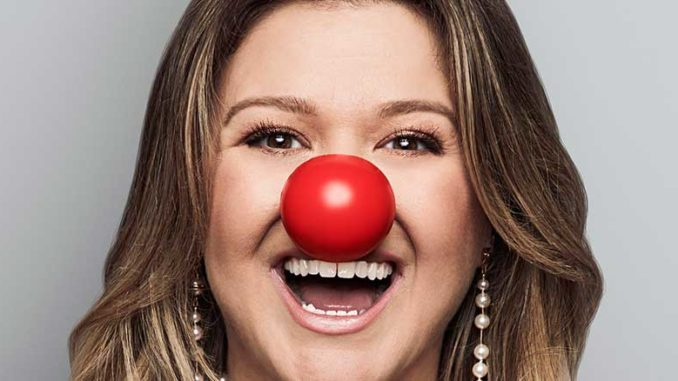 Kelly Clarkson part of Red Nose Day