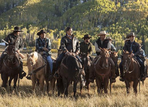 Paramount Network Yellowstone cast