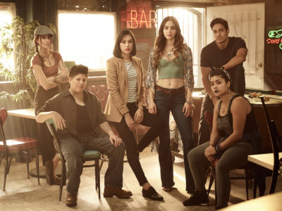 The cast of Vida on Starz
