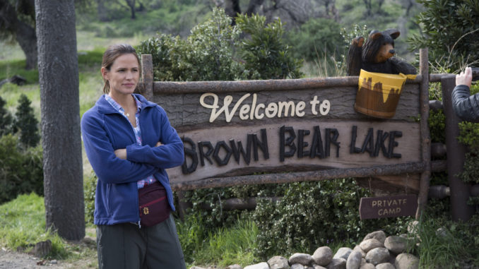 Jennifer Garner Goes 'Camping'