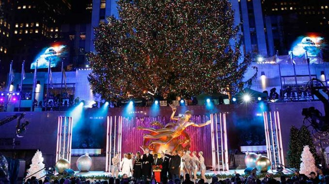 28: 86th Annual Christmas in Rockefeller Center on NBC - Wednesday, Nov. 28: 86th Annual Christmas In Rockefeller Center On NBC