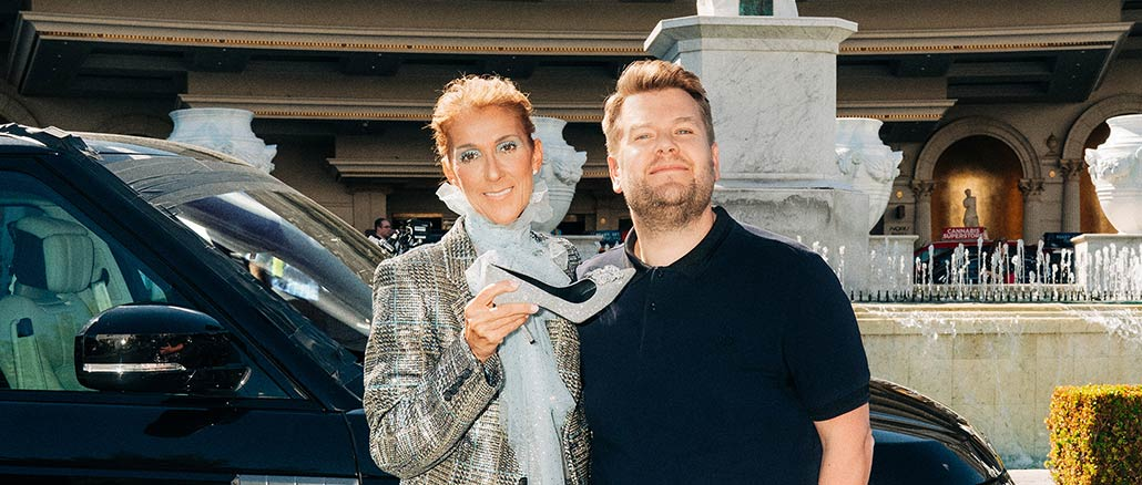 Monday, May 20: Celine Dion Rides With James Corden For