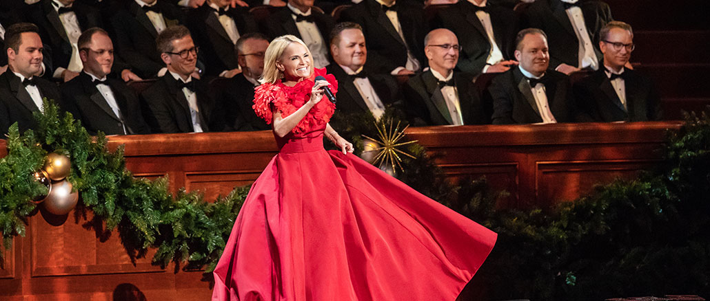 Merry Little Christmas Teitter 2021 Tabernacle Choir Christmas Concert Backstage At Christmas With The Tabernacle Choir Featuring Kristin Chenoweth Channel Guide Magazine