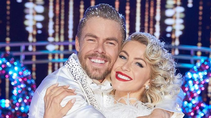Monday Dec 23 Derek And Julianne Hough In Holidays With