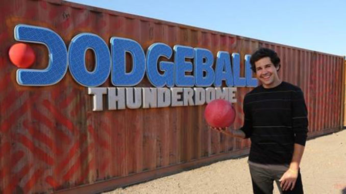 David Dobrik is host of Dodgeball Thunderdome