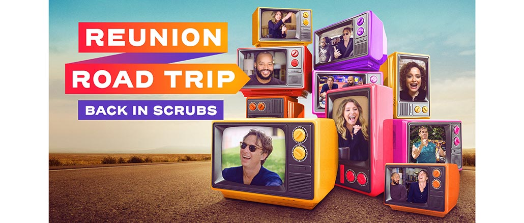 The 'Scrubs' Cast Gets Back Together for E!'s 'Reunion Road Trip'
