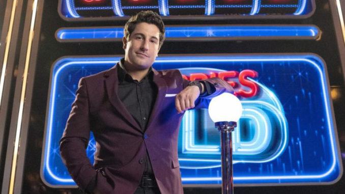 Jason Biggs, host of FOX's game show Cherries Wild